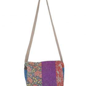 Kantha Patchwork Shopper/'s Handbag Tote Bag Indian Cotton Boho