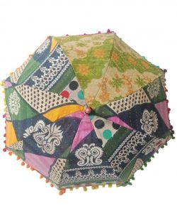 Traditional Kantha Umbrella Parasol