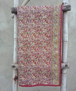 Paisley Baby Kantha Quilt