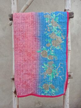 Cotton Baby Kantha Quilt