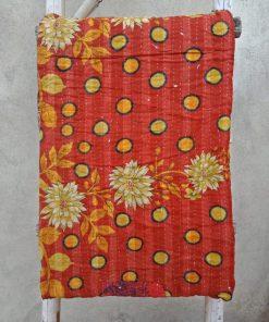 Reversible Vintage Kantha Blanket