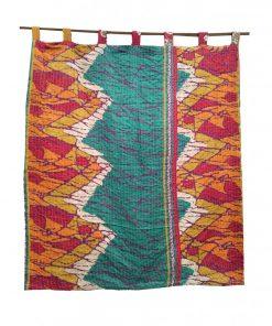 Bohemian Vintage Kantha Curtain