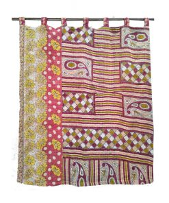 Bohemian Indian Kantha Curtain