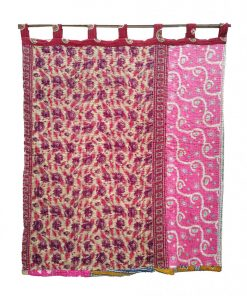 Bohemian Reversible Kantha Curtain