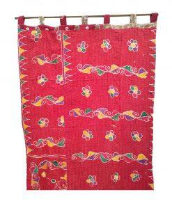 Bohemian Artisanmade Kantha Curtain