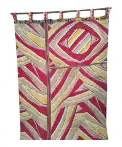 Vintage Cotton Kantha Curtain
