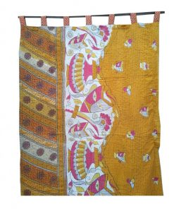 Reversible Vintage Kantha Curtain