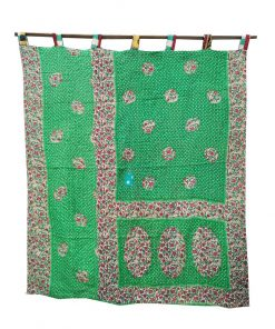 Vintage Kantha Reversible Curtain