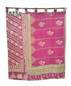 Kantha Quilt Curtain Cotton