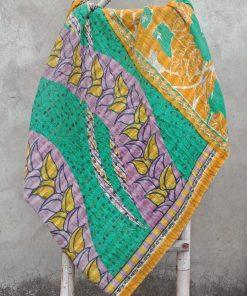 Bengal Leaf Vintage Kantha Gudari