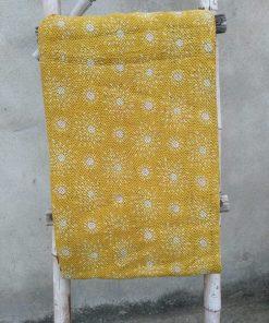 Exclusive 6 layered Vintage Kantha Throw