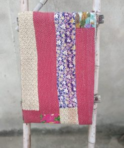 Exclusive 6 layered Indian Kantha Throw