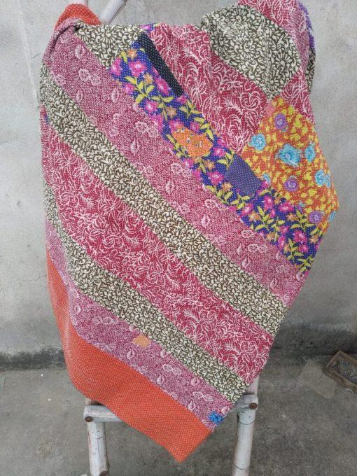 floral vintage heavy kantha