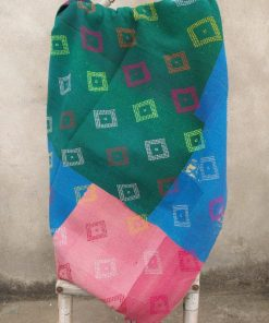 multi colour heavy kantha