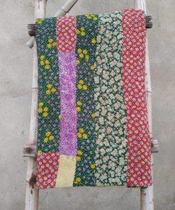 Designer 6 layered Vintage Kantha Throw