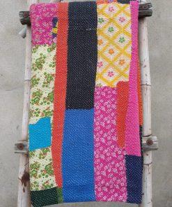 Rare layered Kantha Quilt