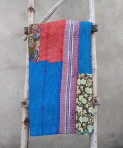 Rare 6 layered Vintage Kantha Quilt