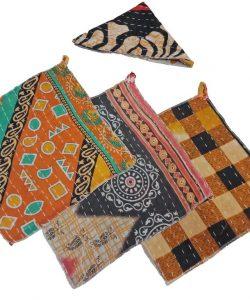 Paisley Kantha Dish Cloth