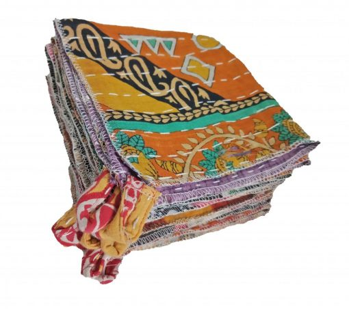 Fine Stitched Kantha Dish Cloth