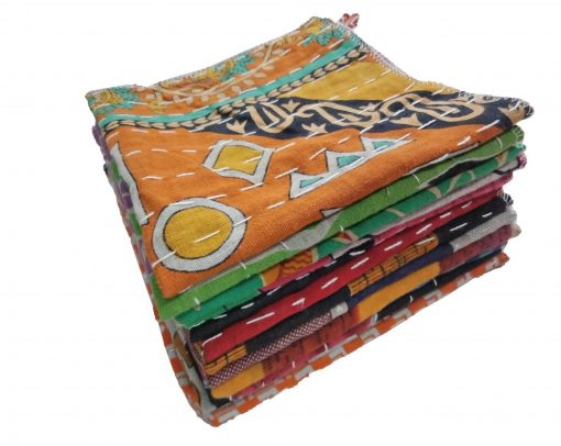 Kantha Vintage Dish Cloth Set
