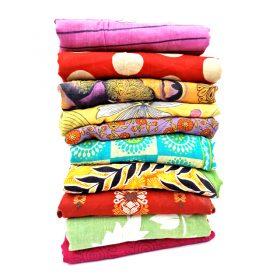 vintage recycled cotton sari