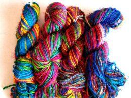 Vintage Recycled Sari Yarn