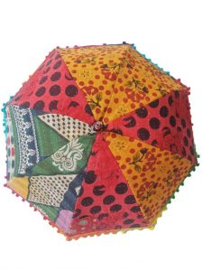 Patchwork Kantha Umbrella