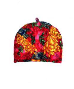 Floral Sari Teapot Cozy