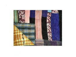 Designer Fine Stitched Kantha Throw