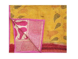 Vintage Kantha Baby Quilts