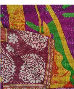 Indian Folk Dance Kantha Quilt