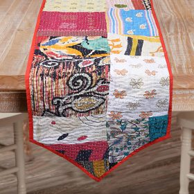 Kantha Patchwork Table Runner