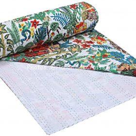 Kantha Quilt Frida Cotton Blanket